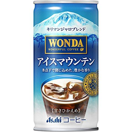 일본 아사히 캔커피 아사히 음료 완다 월드 트립 아이스 마운틴 185g × 30 개