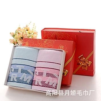 XXIN Boîte Cadeau Boîte Cadeau Serviette De Coton Package   Serviettes  Serviette Panneau Lettres 8b0bd3ac27b