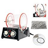 YaeTek 3kg Rotary Mini Tumbler Surface Polisher Jewelry Polishing Finishing Machine (3KG/6.6LB)