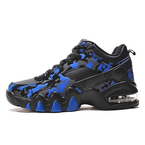 Hombres Zapatillas Deportivas Zapatillas de Deporte colchón de Aire Caminar Zapatos Zapatillas Deportivas Hombre: Amazon.es: Zapatos y complementos