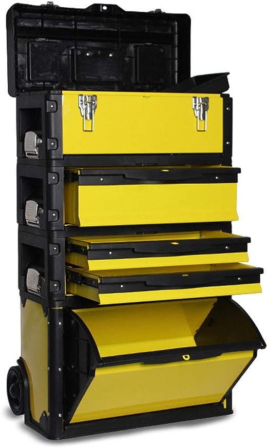 LXB Caja de Herramientas apilable, diseño Desmontable de Cuatro ...