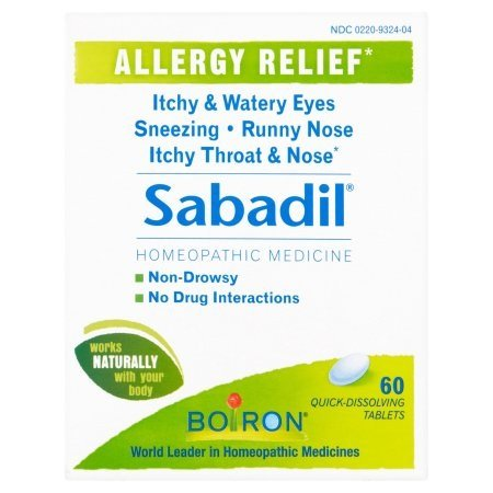 Sabadil Allergy Relief, 60 Quick Dissolving Tablets Per Box
