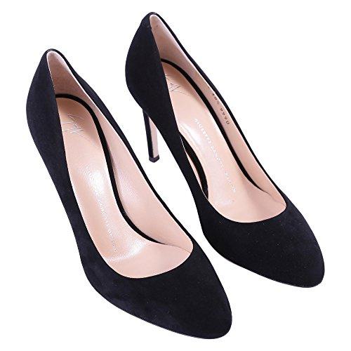 Noir Design Femme Cuir Giuseppe Talons Zanotti À E76062020 Chaussures BxxSI