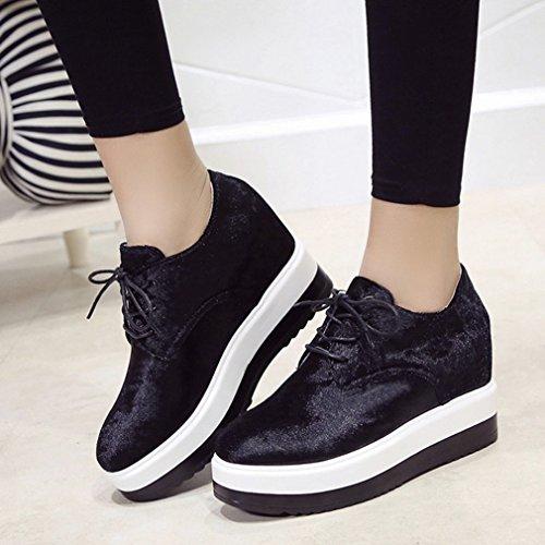 Zapatillas Zapatillas Mujer Zapatillas negro JRenok JRenok Mujer Mujer negro JRenok ASwTqW0