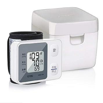 Tensiómetro, tensiómetro de brazo y brazo, tensiómetro electrónico, medición precisa del tipo de muñeca: Amazon.es: Salud y cuidado personal