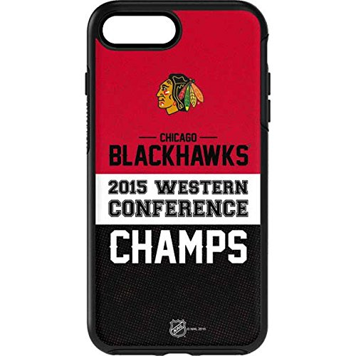 NHL Chicago Blackhawks OtterBox Symmetry iPhone 7 Plus Skin - Chicago Blackhawks 2015 Western Conference Champs by Skinit