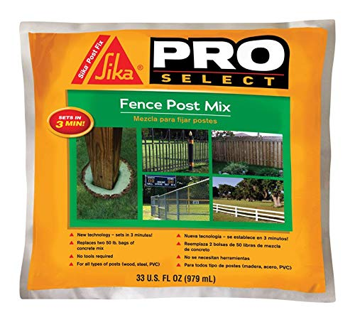 - Sika 483503 Fence Post Mix, Green