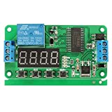DC 12V PLC Self Lock Delay Relay Multifunction Cycle Timer Module Switch Control - Arduino Compatible SCM & DIY Kits