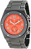 Swiss Legend Men's 10028-BKOSA Throttle Chronograph Orange Textured Dial Watch, Watch Central