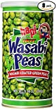 Hapi Snacks Wasabi Peas, Hot, 9.9 Oz (Pack Of 8)