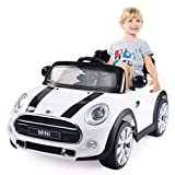 Best BMW Car For Kids With Remotes - Costzon Ride On Car, Licensed BMW Mini Cooper Review