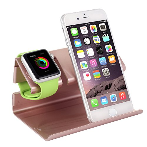 Cheap Stands Apple Watch Stand,iPhone 6 Stand,BENTOBEN Charging Stand Dock Station Cradle Nightstand for..