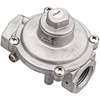 Windmax 5/8 FPT Gas Pipe In/out,1/2 PSI (3.5kPa) LPG10 WC & NAT 5 WC Natural Gas Pressure Regulator