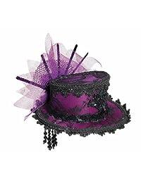 Forum Novelties Women's Steampunk Victorian Mini Top Hat Costume Accessory