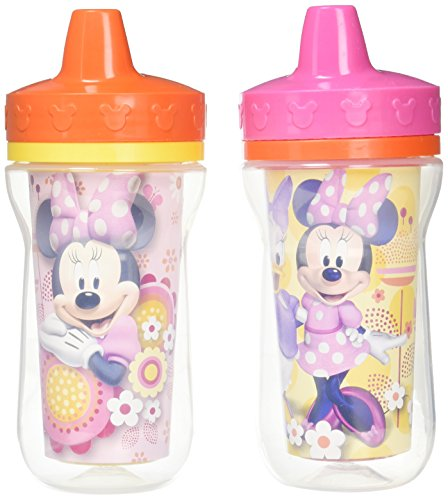 The First Years Minnie Mouse 2 Pk Insulated Sippy Cup (Colors/Styles Vary)