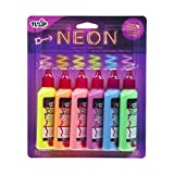 Tulip 29027 Dimensional Neon Fabric Paint, 6-Pack: more info