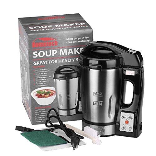 hometech hs 03g 800w jug stainless steel electric soup. Black Bedroom Furniture Sets. Home Design Ideas