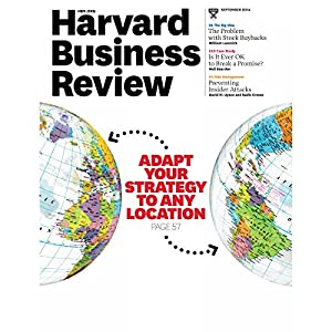 Harvard Business Review, September 2014 Periodical