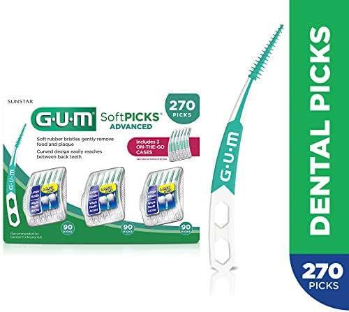 GUM Soft-Picks Advanced Dental Picks, 270 Count
