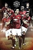 "Manchester United - Soccer Poster / Print (Ibrahimovic - Season 2016 / 2017) (Size: 24"" x 36"")"