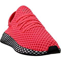 Disruptively Simple, Deerupt Is Definitive Proof That Minimalism Can Be Bold. These Shoes Have A Stretchy Upper That Feels Sleek And Streamlined On Your Foot. The Web Overlay Gives Them A Distinctive Textured Look. A Reflective Graphic Flashe...