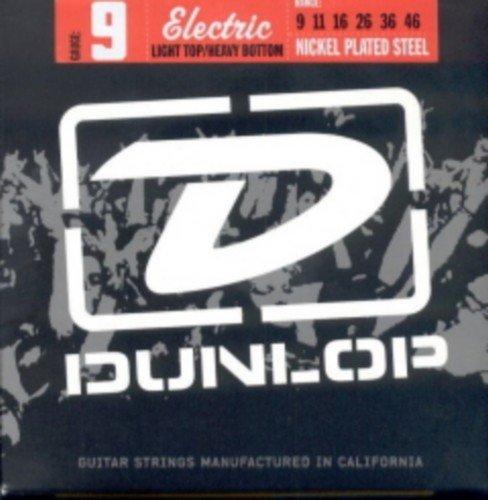 CUERDAS GUITARRA ELECTRICA - Dunlop (DEN/0946) L.T.H.B. 9´S (Juego Completo 009/046E)