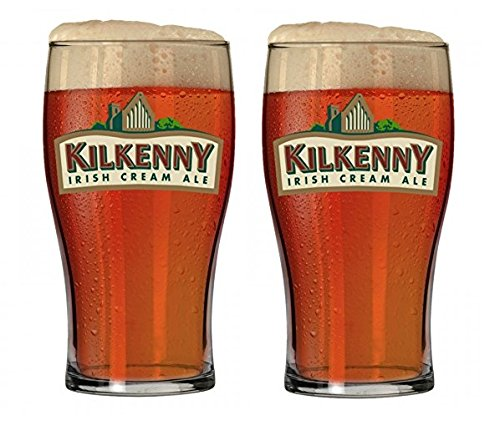 Kilkenny Irish Cream Ale Signature Pub Glass Imperial 20oz Pint 2 Glass ()
