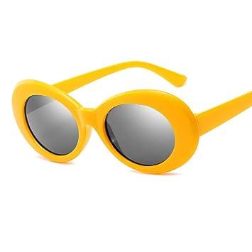 YOGER Gafas De Sol Gafas De Sol Ovaladas Moda De Hombre ...