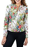 Joseph Ribkoff Multicoloured Floral Zip Front Coverup Jacket Style 171677 - Size 8
