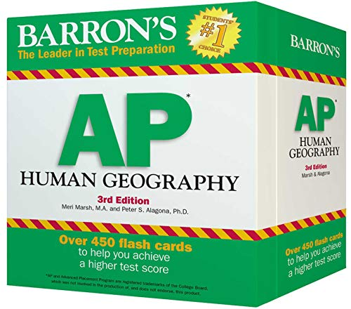 Pdf Science Barron's AP Human Geography Flash Cards