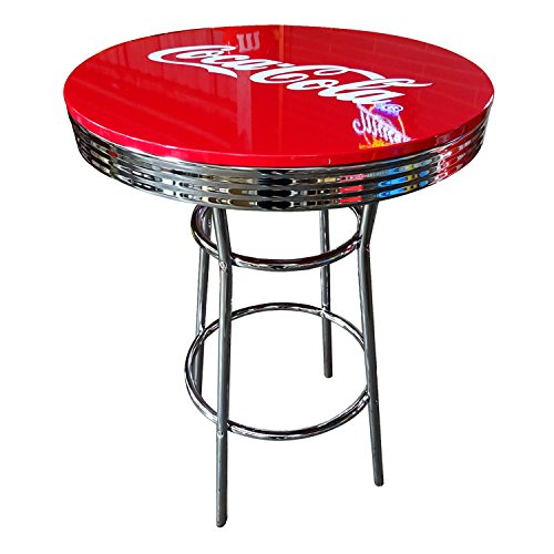 COCA-COLA BRAND コカコーラブランド ハイテーブル 「Coke HI-Table」 PJ-200T 【インテリア、家具、コーラ雑貨、アメリカン雑貨】 B00NYUK0BW