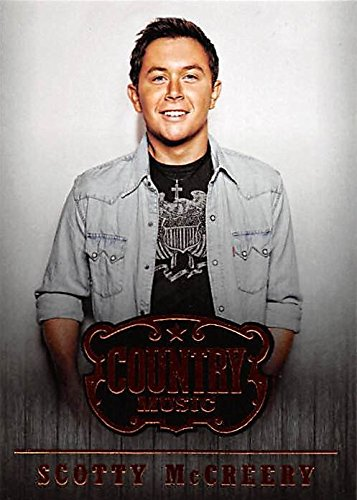 Scotty McCreery trading card (Country Music Star) 2014 Panini #69 from Autograph Warehouse