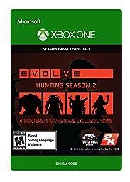 Evolve Hunting Season 2 Season Pass - Xbox One Digital Code