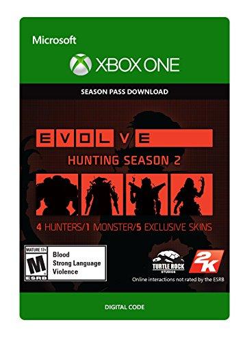 Evolve Hunting Season 2 Season Pass - Xbox One Digital Code by 2K Games