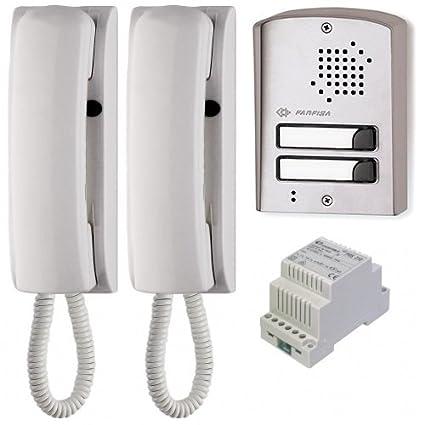 O9n Farfisa 1ups Door Entry Audio Intercom 2 Way System With