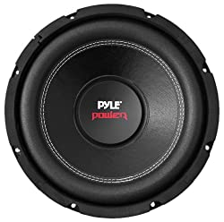 Pyle Car Subwoofer Audio Speaker - 8in Non-pressed Paper Cone, Black Steel Basket, Dual Voice Coil 4 Ohm Impedance, 800 Watt Power & Foam Surround For Vehicle Stereo Sound System - Plpw8d