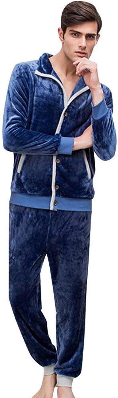 Hombre Pijamas Mujer Otoño Invierno Manga Larga Termica ...