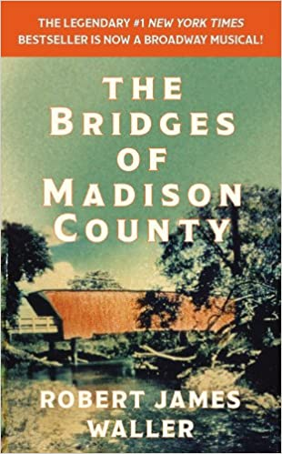 Image result for bridges of madison county book cover