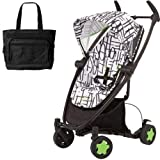 Quinny CV262KBW Zapp Xtra Folding Seat Stroller with diaper bag - Kenson