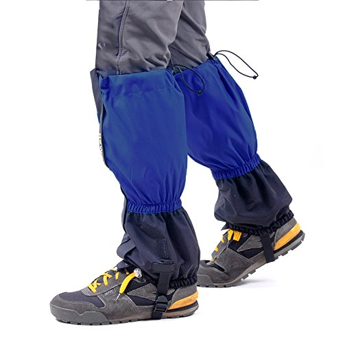 PSF Brands - Snowshoeing Leg Gaiters Shoe Covers for Hiking, Hunting or Walking - Waterproof and Bundled with Mask