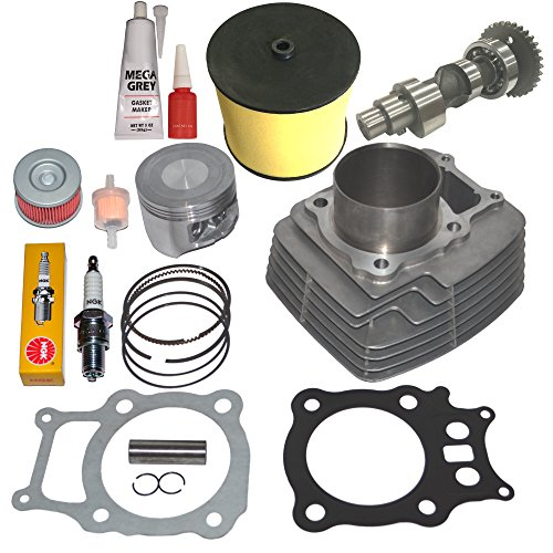TRX 350 CYLINDER PISTON RINGS CAMSHAFT KIT SET 2000 2001 2002 2003 2004 2005 2006 ()
