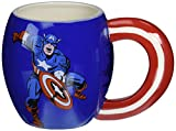 captain america glass cup - Westland Giftware Ceramic Mug, Captain America, 15-Oz, Multicolor