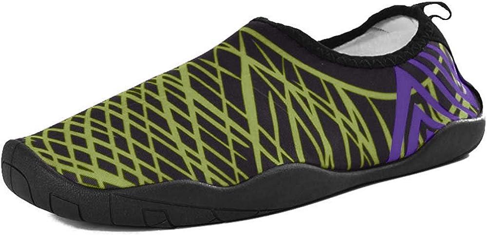 Slickkicks Men's /& Women's Water Shoes White Mesh Slipper 11 M US