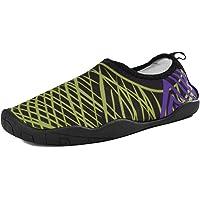Slickkicks Men's & Women's Water Shoes, Mesh Slip on Shoes Quick Drying Aqua Shoes for Outdoor Sports, Yoga, Beach, Swimming