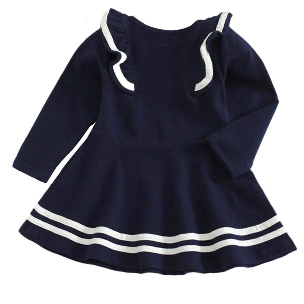 Lollyeca Baby Clothes Sets PANTS ベビーガールズ 18-24Months ダークブルー B07HQ6PPRD