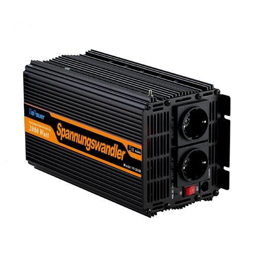 3 opinioni per Inverter di potenza onda sinusoidale modificata 2000 4000w power inverter 12v