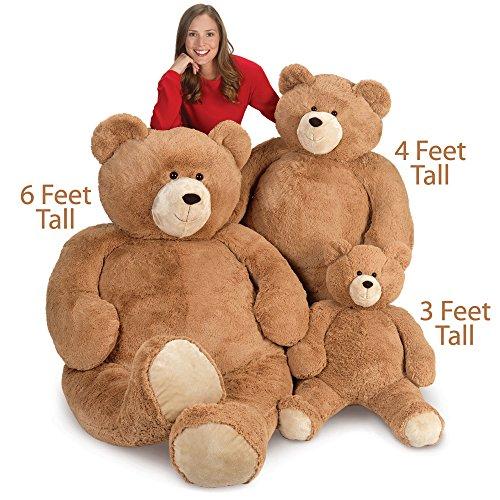 51sgcTEU5xL - Vermont Teddy Bear - Huge Love Bear, 6 Feet Tall, Brown