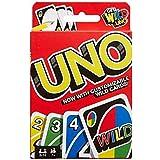 Mattel Games DOS, juego de cartas de UNO (Mattel FRM36 ...