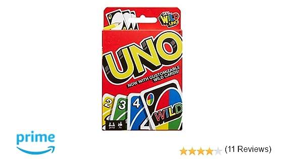 Mattel Games - UNO Clipstrip, Juego de Mesa (BGY49)
