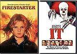 Stephen King Horror DVD Bundle - IT & Firestarter 2-Movie Set Double feature 80's classics